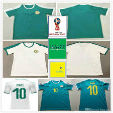 Best Football Jersey Design 2018 2018 World Cup Senegal Soccer Jerseys 10 Mane Coulibaly Niang Kouyate Gueye Blank Custom Home White Away Green Football Jersey Shirt Uniform