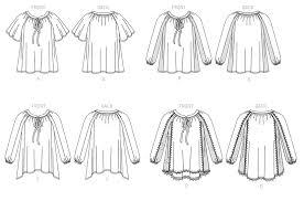 Raglan Sleeve Pattern Mesmerizing McCall's 48 Misses' Gathered Raglan Sleeve Tops With Neck Ties