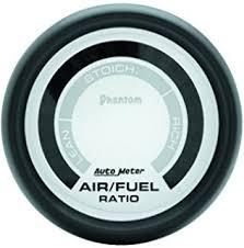 amazon com auto meter 6175 cobalt digital air fuel ratio gauge auto meter 5775 phantom electric air fuel ratio gauge