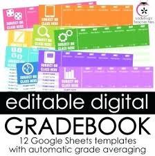 Google Sheets Templates Grading Template For Teachers Sheet