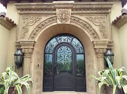 front door with sidelitesWrought Iron Entry Doors With Side Lights Scottsdale AZ