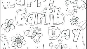 Earth Day Printable Coloring Pages Preschool And Kindergarten Free