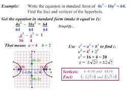 hyperbola equation standard form jennarocca