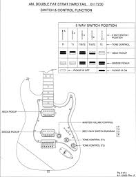 dblfatstratchart.1 guitar wiring diagram 2 humbucker 1 volume wiring guitar ideas on dean guitar wiring schmatic