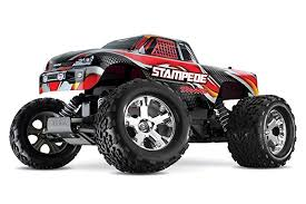 Traxxas Stampede 1 10 Scale 2wd Monster Truck With Tq 2 4ghz Radio Red