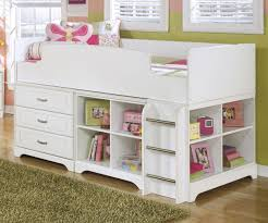 lulu loft bed by ashley furniture with built in drawers b102 68t ashley unique furniture bunk beds