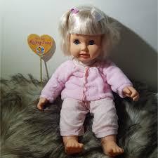 Mã TOYJAN hoàn 20K xu đơn 50K] Búp Bê Nga Takmay 40 cm Thân Gòn, Mắt Chớp_  Hãng Gi Go Toys 14 inch Doll