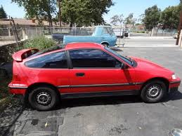 88 honda crx dx civic 2 door coupe hatchback gas mileage car hard to find