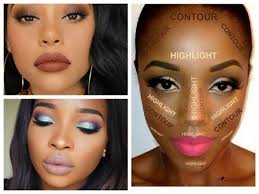 best makeup ideas for dark skin women highlight and contour dark skin tutorial eye makeup for black women african lips makeup tutorial