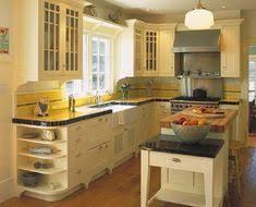 1950s kitchen design notice tile border on back splash shelf corbels under upper
