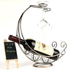 bar glass holder wine