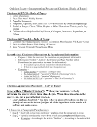 Ims Opinion Essay Incorporating Resources Citations Body