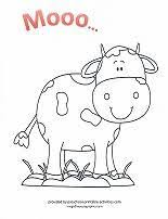 Free Farm Animal Coloring Pages Cows Pigs Chickens Rooster