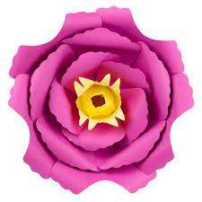 Peony Paper Flower Peony Stock Paper Flower For 3d Wall Decor