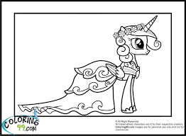 My Little Pony Princess Cadence Coloring
