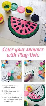 Color Your Summer With Play Doh