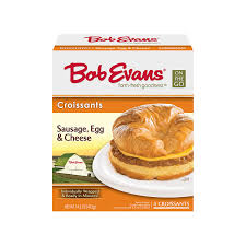 Bob Evans Light Breakfast Menu Bob Evans Sausage Egg Cheese Croissant 4 Ct Bob Evans Farms