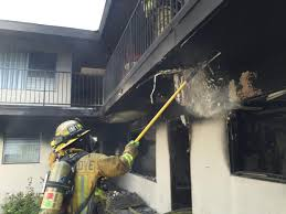 fire damages garden grove apartments 7 displaced
