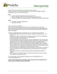 Fireplace Pilot Light How To Light A Gas Fireplace Pilot Light Manualzz Com