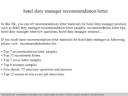 Best Ideas Of Cover Letter Hotel Duty Manager Hotel Duty Manager Re