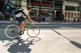 why delivering food via bicycle is good