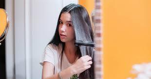 permanently straightening my hair