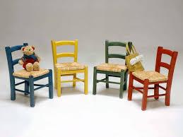 Sedia bambini in legno baby