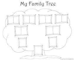 Drawing A Family Tree Template Genealogy Chart Excel Family Tree Template Easy