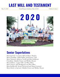 Last Will and Testament 2020 by Tattnall Square Academy - issuu