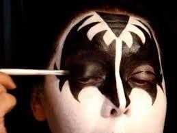 kiss series gene simmons the demon make up tutorial pt 1