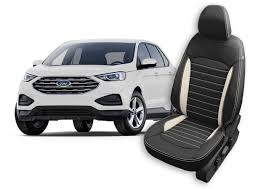 ford edge seat covers leather seats