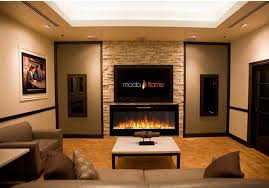 modern electric wall mount fireplace