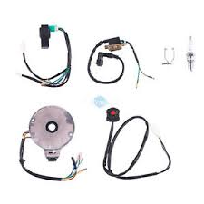 50 to 125cc kick start atv complete wiring harness cdi stator image is loading 50 to 125cc kick start atv complete wiring