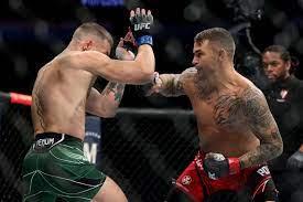 Conor McGregor Injures Leg, Poirier Wins UFC 264 Showdown - Bloomberg