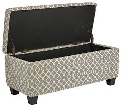 cortesi home kiki fabric storage long bench ottoman wood storage ottoman bench wood storage ottoman