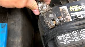 Replacing Battery Terminal Connectors Toyota Avalon - YouTube
