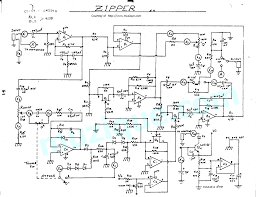 guitar effects schematics projects e h zipper envelope controlled filter
