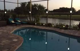 custom pool enclosure hexagon shape. Clip On, Installs In Seconds, Solar Lighting For Lanai Lights, Pool Cage  Lights And Screen Enclosures Custom Pool Enclosure Hexagon Shape