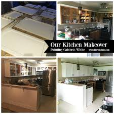 painting cabinets whiteOur DIY Kitchen Remodel  Painting Your Cabinets White  Ellery
