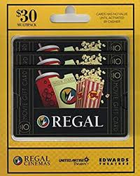 Amazon Com Regal Entertainment Gift Cards Multipack Of 3