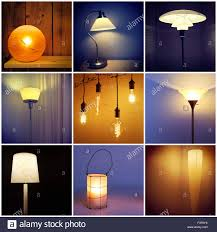 different lighting styles. Different Styles Of Modern Lamps. Decorative Lighting. Collage Nine  Photos. Different Lighting