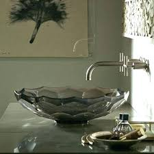kohler glass sink vessel sinks glass sink artist by design necessities kohler spun glass sink