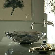 kohler glass sink vessel sinks glass sink artist by design necessities kohler spun glass sink