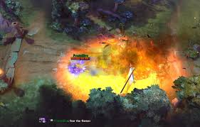 why is dark seer burning after 1 hour game dota2