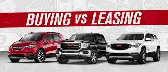 Buy Vs Lease A Car Buy Vs Lease George Gee Buick Gmc Liberty Lake Wa