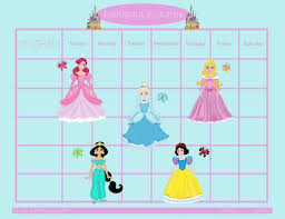Disney Princess Behavior Chart Sticker Chart Printable For Girls Www Bedowntowndaytona Com