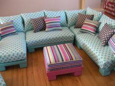 diy barbie furniture. Dollhouse Furniture Sectional Pieces. Make The Sofa In Configuration  They Want. Change It Diy Barbie L