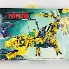 Lego Ninjago Rồng Vàng Siêu Hạng. Chiến Binh Rồng Vàng. Đồ chơi xếp hình  cho bé trai hàng đẹp giảm chỉ còn 259,000 đ