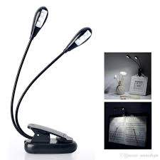 Cheap Book Lights 2019 Led Clip On Reading Light Adjustable Neck Book Light Lamp Two Headed Light With 4 Premium Leds From Autoledlight 5 73 Dhgate Com