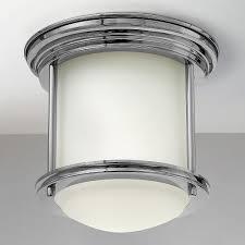 Hinkley Hadley Light Hinkley Lighting Hadley Chrome Flushmount Light At Destination Lighting